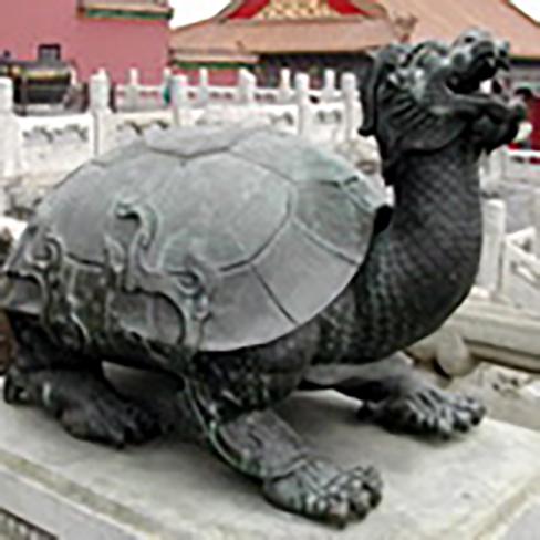 zahl neun drache china